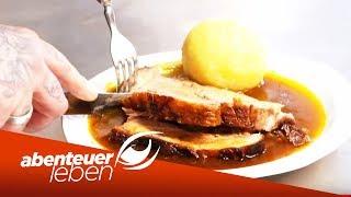 Bayerischer Schweinebraten Kochen im ltesten Wirtshaus der Welt  Abenteuer Leben  kabel eins