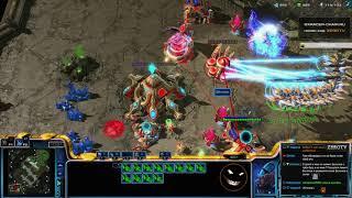 ★ Размен PvP - VOIDRAY RUSH   StarCraft 2 с ZERGTV ★