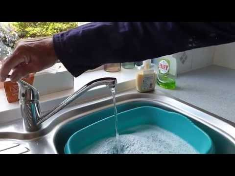 How to increase your water pressure at the taps.