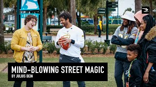 Julius Dein Wows Ciara and I at The ProBowl | Street Magic