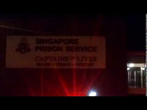 Singapore Prison Service at Night