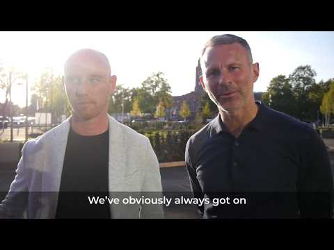 Gary Neville, Ryan Giggs and Nicky Butt discuss the UA92 Launch