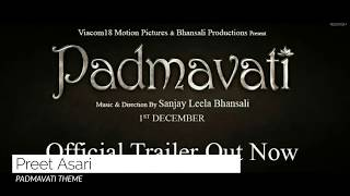 PADMAVATI THEME (SOUND TRACK) - PIANO COVER
