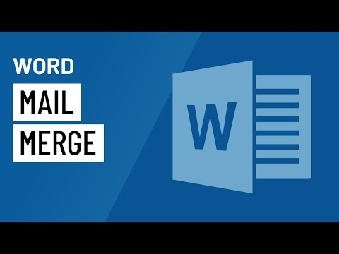 Word: Mail Merge