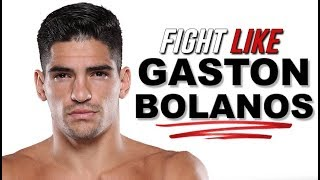 Traditional Muay Thai for MMA: How to Fight Like Gaston Bolaños
