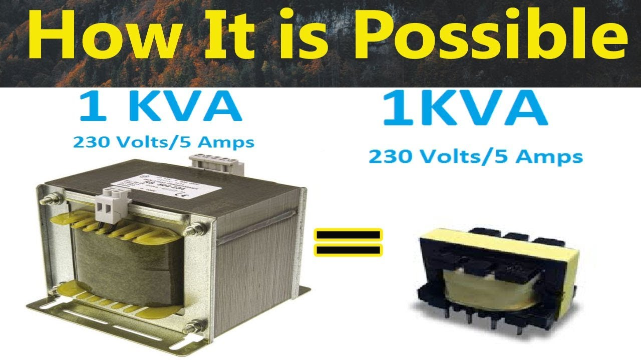 Frequency Vs Transformer Size Hf Transformer Working Principle In Tamil