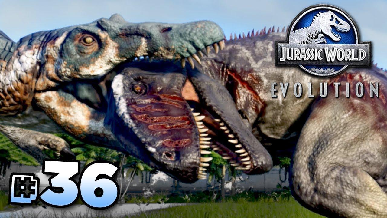 GIGANOTOSAURUS Vs SPINOSAURUS!!! - Jurassic World ...Giganotosaurus Vs Spinosaurus