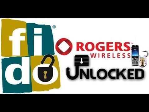 Roger/Fido Canada Unlock FREE Service ON ( Clean IMEI )