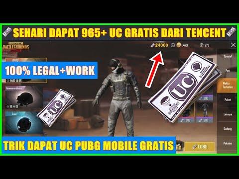 UC GRATIS DARI TENCENT!! Cara Mendapatkan UC PUBG Mobile Gratis Terbaru 2019 - 동영상