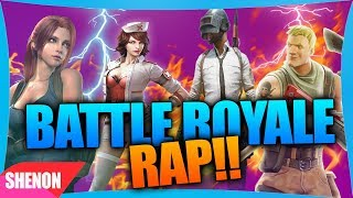 🔥 FORTNITE,FREE FIRE,PUGB Y ROS 🔥| RAP BATTLE ROYALE 2018 | shenongame