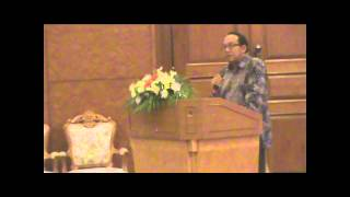 Opening Speech Delivered by General Indonesian Consulate Mr. Heru Wicaksono in AASIC 2012