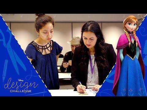Frozen Art Director Mike Giaimo Visits On Disney Design Challenge Frozen   Disney Style