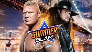 WWE SummerSlam 2015 ► Brock Lesnar Vs UnderTaker [OFFICIAL PROMO HD]