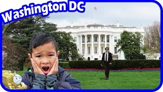 TigerBox in Washington DC with Thomas and Friends visiting The White House Vlog #2