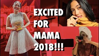 #MJVLOG6 - EXCITED FOR MAMA 2018!!! My Dream Come True | Korea Vlog #1