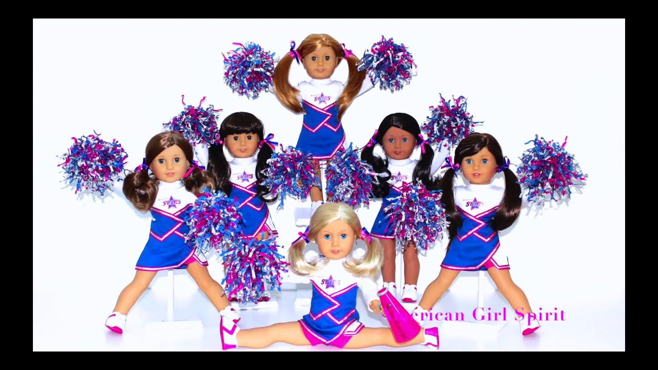 cheerleading American Girl Doll | CHEERLEADING Squad~2-in-1 Cheer Gear Set