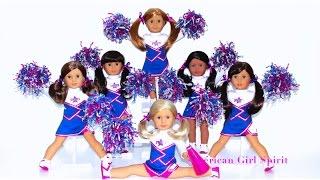 American Girl Doll   CHEERLEADING Squad~2-in-1 Cheer Gear Set
