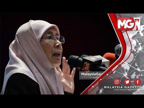 """""""Kita semua melakukan kesilapan"""" - Dr. Wan Azizah"""