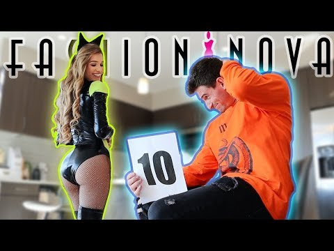 TINDER DATE RATES MY FASHION NOVA HALLOWEEN COSTUMES!