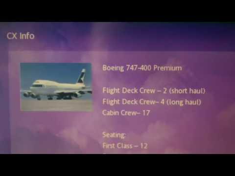 Cathay Pacific's CX Studio (Inflight entertainment)