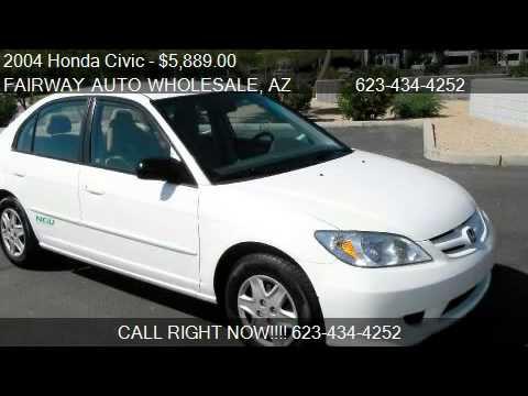 2004 Honda Civic GX CVT - for sale in Phoenix, AZ 85027