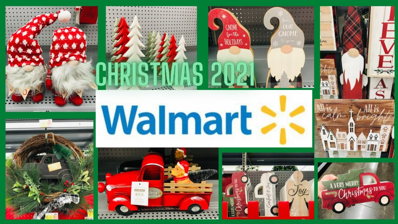Download Walmart Christmas Shop With Me🎄 Christmas Decorations 2021🎄Sneak Peek