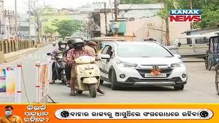 Lockdown In Odisha: Checking By Police Underway, Violators Fined In Sambalpur