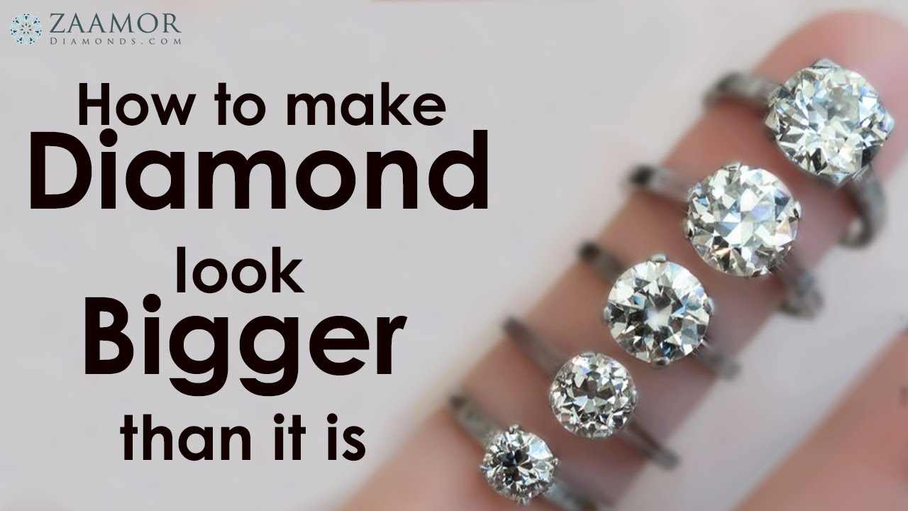 How to make a diamond ring bigger
