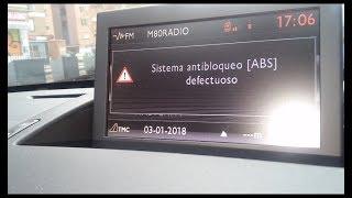 Peugeot 5008 Sistema ESP ASR defectuoso bloqueo Abs Defectuoso