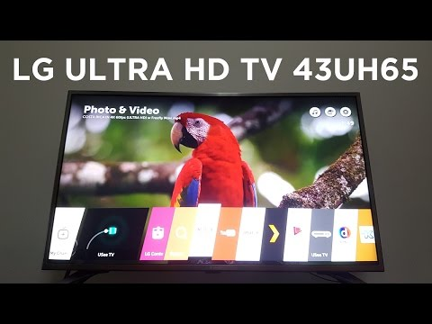 "LG 43"" ULTRA HDTV 43UH650T Unboxing & Review! (Indonesia)"
