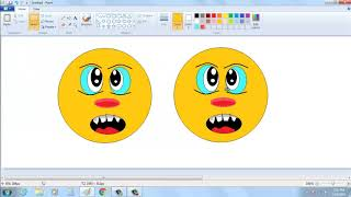 How to make an emoji in PC || Art Queen || Paint Art || art video