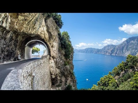 Amalfitana SS163: Amalfi Coast Road, Italy - BMW K1600GTL
