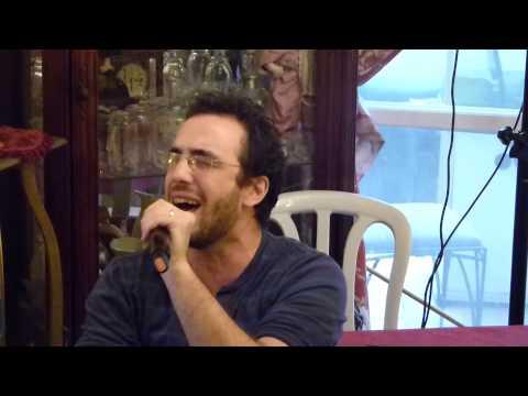 Jean Paul et Jordan Perez   Karaoke Pourim 2014