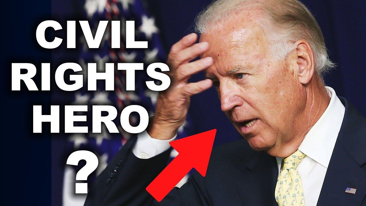 Debunking Biden's Claim of Civil Rights Movement Involvement - Larry Elder Show