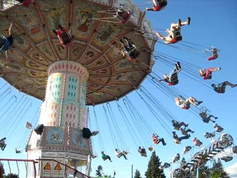 Carnival ride (swings) - YouTube