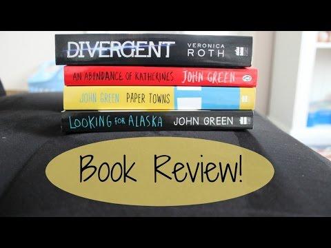 Book Review! John Green Books + Divergent!