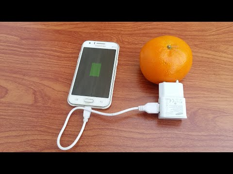 Mobile Charging with a Orange