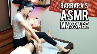 SLEEP with BARBARA'S ASMR MASSAGE THERAPY... | DEEP SOUND