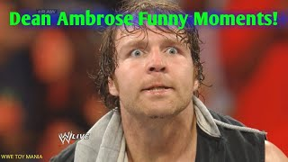 WWE DEAN AMBROSE FUNNY MOMENTS 2019