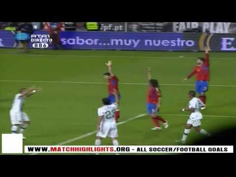 C.Ronaldo amazing disallowed goal - Portugal vs. Spain [HD]