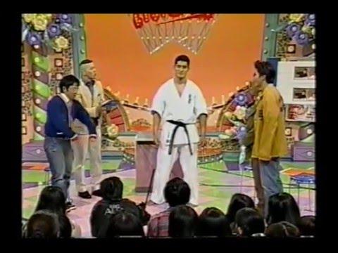 kyokushin karate 笑っていいとも 八巻建志選手出演