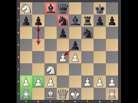 Dirty Chess Tricks 22 (Larobok Shock for Philidor/Black-Lion Defense)