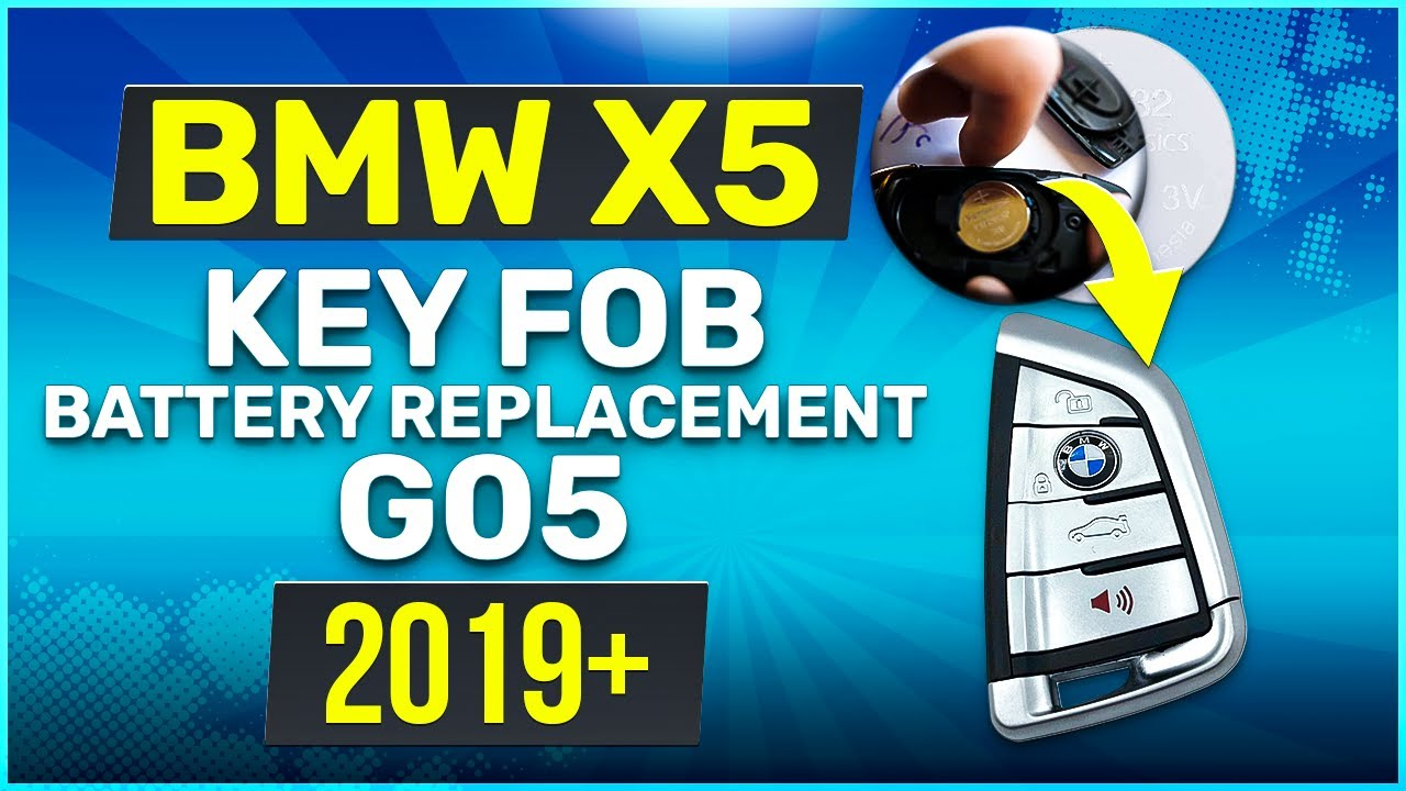Bmw X5 Key Fob Battery Replacement Easy How To Guide