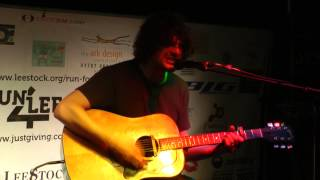 "Chris Helme performing ""Love Is The Law"" at LeeStock Acoustic LoveLeeNess"