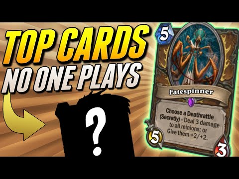 Top Hearthstone Cards That Dont See Play   Solem