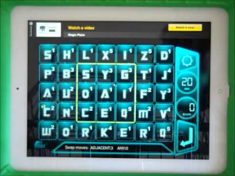 AlphaSwap - The MMO Word Game - Play For Free On iPhone, iPad, Droid & Kindle