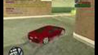GTA san andreas street drift by driftman