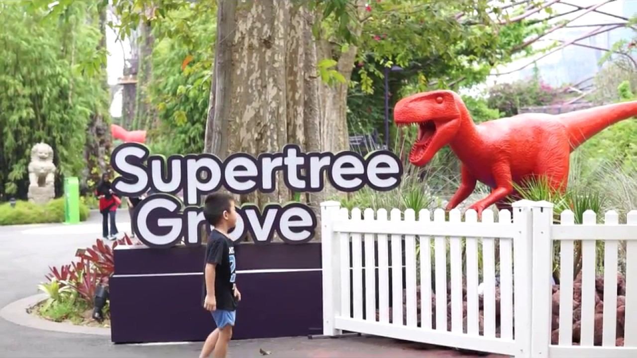 gardens by the bay dye nosaur gardens childrens festival 2017