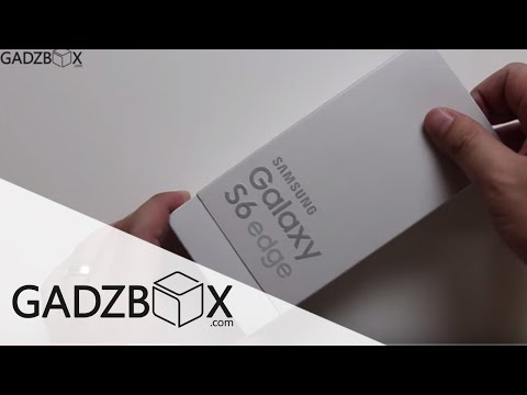 แกะกล่อง: Samsung Galaxy S6 Edge Gold-Platinum (64GB)