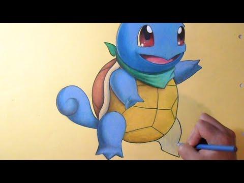 Colorindo Squirtle Pokemon Youtube
